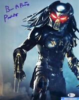 BRIAN A PRINCE THE PREDATOR SIGNED 11x14 METALLIC PHOTO BECKETT BAS COA 219