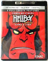 Hellboy Animated [4K UHD Ultra HD Blu-ray / Bluray] Hell Boy