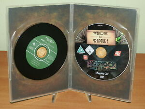 BIOSHOCK RAPTURE - MAKING OF DVD & CD MOBY USATO PS3 XBOX 360 PC
