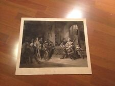 Falstaff Mustering His Recruits (1860) Henry IV Act III -1st Time on Ebay