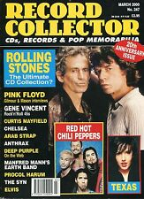 RECORD COLLECTOR No. 247   Rolling Stones   Texas   Red Hot Chili Peppers