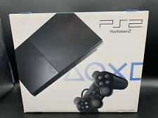 SONY PlayStation 2 Charcoal Black SCPH-90000CB Japanese Ver Original Console Ps2