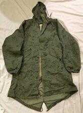 More details for nato night camouflage desert parka jacket medium