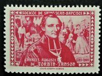 Societe Saint Jean Baptiste C.AUGUSTE DE FORBIN JANSON (GUM) Canada F/VF SSJB