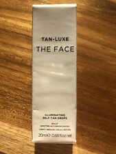 TAN-LUXE The Face Illuminating Self-Tan Drops Light/Medium 20ml New Sealed