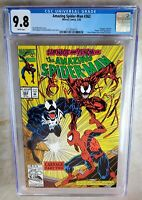 Amazing Spider-Man #362 2nd Carnage - Marvel 1992 CGC 9.8 NM/MT WP - Comic H0047