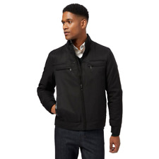 The Collection Big And Tall Black Funnel Neck Jacket 4XL TD081 PP 03