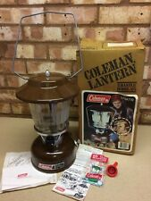 BOXED COLEMAN 275 TWIN MANTLE LAMP LANTERN 275A710