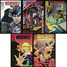 Werewolf 1988 Blackthorne Comic Set 1-2-3-4-5 Horror Werewolves TV Adaptation