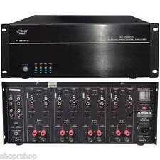 PYLE HOME PT8000CH 8-Channel, 8,000-Watt Stereo-Mono Amp NEW