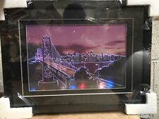 Brand New Amazing LED Picture Of Bridge With City Background