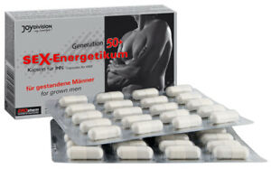 Stimolatore Erezione Uomo Sex Energetikum50+ Potenza contro disfunzione erettile