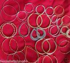 Lot revendeur 12 paires de boucles d'oreille créole anneaux NOUVELLE COLLECTION