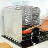 Aluminum Foil Plate Prevent Oil Splash Kitchen Gas Stove Cooking Hot Baffle