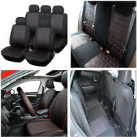 Interior Accessories Front Bucket  Rear Bench Car Seat Covers for 5-Sear Car SUV