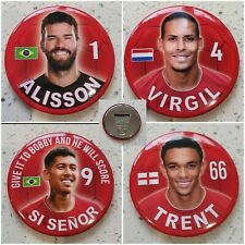 More details for liverpool gift idea - magnet alisson, virgil, firmino and trent set of 4