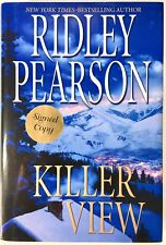 Killer View - SIGNED by Ridley Pearson PRISTINE Hardcover First Edition, 1st Ptg