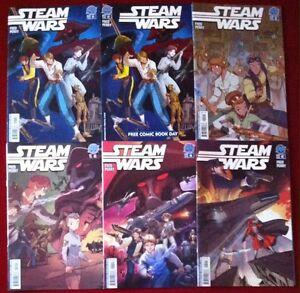 Steam Wars (2013) #1-5 - Comic Books - Antarctic Press - Low Print Runs