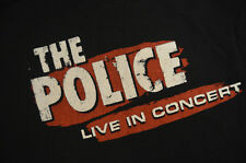 Vintage The Police Live in Concert 2007-08 Tour T-shirt Adult Large Sting