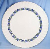 Copeland Spode Valencia Chop Plate Round Platter S/1248 Green Grapes Blue Leaves
