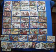 "1950 QUAKER OATS ""SGT. PRESTON CHALENGE OF THE YUKON 36 CARD SET PLUS 13 XTRA"