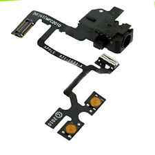 IPhone 4 4G Handsfree Audio Jack Volume Button Flex Cable Replacement Part Black