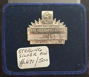 RARE  925 STERLING SILVER SYDNEY 2000 OLYMPIC PIN Ltd Ed. CITY STORE #471/500