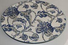NEW Williams Sonoma Vintage LANCASTER Palampore SERVING Platter Blue Olive