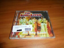 All My Life By The Chi-Lites (CD 2004 Planet Song) NEW German Pressing