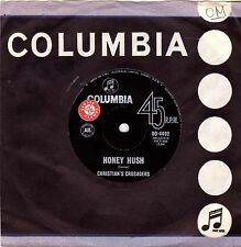 "Christian's Crusaders-Honey Hush-7"" Single-1964 Columbia Oz Promo-Jimmy Page"