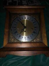 Howard Miller 8 Day Keywound Westminster Chime Mantle Clock,612-437. Works