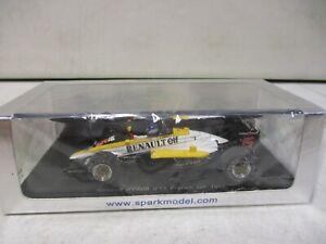 Spark Renault RE60B French GP 1985 Tambay 1/43