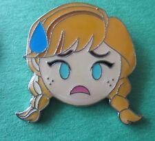 Emoji Blitz Nervous Anna from Frozen Disney Pin