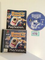 Sony Playstation 1 Ps1 Monster Rancher