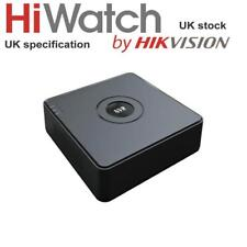 HiWatch Plug & Play NVR 4 Ch 2MP 4 POE IP Video CCTV Recorder NVR-104-A/4P NEW