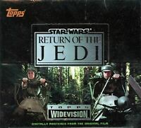Star Wars Return of the Jedi Widevision Card Box 24ct Topps 1995