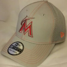 NWT NEW ERA Miami MARLINS Florida FL 39THIRTY Small-Medium baseball cap hat mlb