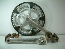 Solida Double Square Taper Chainset 52 / 42 Teeth 170 Cranks + Lyotard Pedals