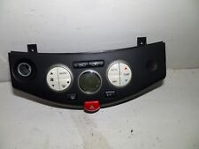 NISSAN MICRA K12 HEATER CONTROL PANEL A/C 2003 TO 2009  SHAPE