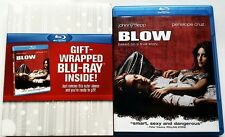 BLOW BLU RAY WITH WALMART EXCLUSIVE GIFTWRAP SLIPCOVER SLEEVE FREE SHIPPING