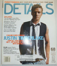 Details Magazine Justin Timberlake Robbie Williams December 2002 031315R