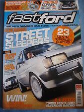 Fast Ford Mag 2010 - Feb - performance alloys - HID lights - RS Van