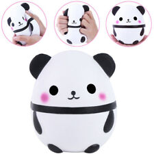 PU Foam Panda Doll Egg Jumbo Slow Rising With Packaging Soft Squeeze Toy