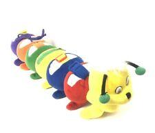 Discovery Toys Caterpillar Dress-A-Pillar Plush Learn To Zip Tie Snap Button.