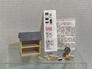 Artisan Tiny Dollhouse for Dollhouse with Furniture Kit Dollhouse Miniature 1:12