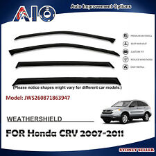 AD WEATHERSHIELD WINDOW VISOR WEATHER SHIELD FOR HONDA CRV CR-V 2007-2011