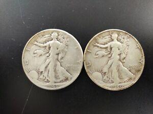 1946 & 1946-S walking liberty half dollars