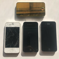 Lot 4x Apple iPhone 4 and 4S 8GB Models As Is Parts Repair Untested