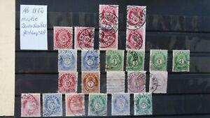 Verkaufe Norwegen ab 1872 gestempelt,für mich nicht zuordenbar