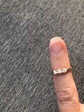 Cz Toe Ring Jcm 10k Yellow Solid Gold